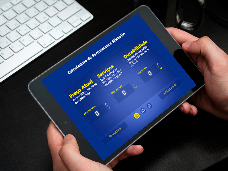 Calculadora Michelin (webapp)