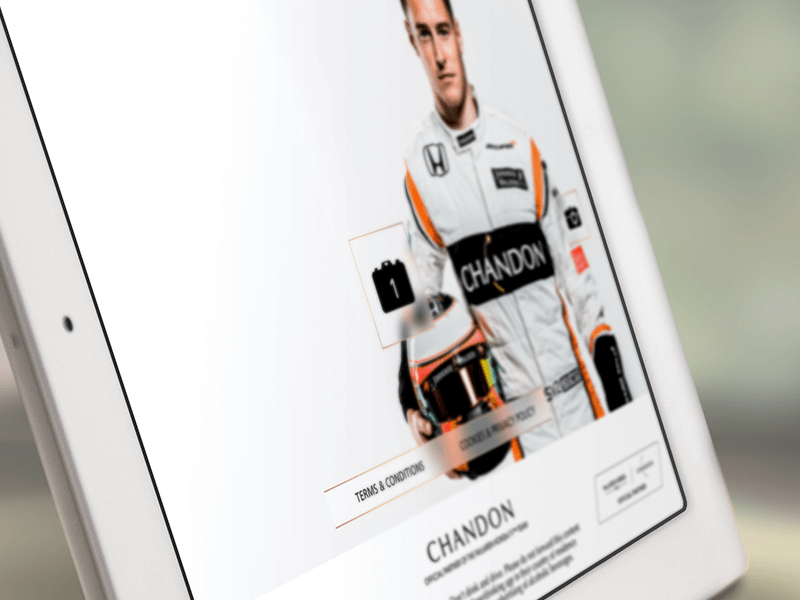 Chandon F1 (iOS app)